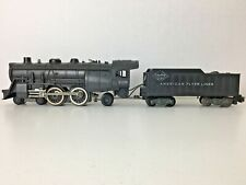 "(2 lot) *AMERICAN FLYER 21100* ""READING 4-4-2 ATLANTIC LOCOMOTIVE & TENDER"""