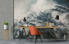 New Listing3D Ocean Storm Zhua8133 Wallpaper Wall Murals Removable Self-adhesive Amy