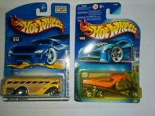 HotWheels 03 Work Crewsers Cabbin Fever #186 lot of 2.-surfin First Editions #14