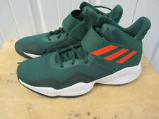 ADIDAS X UM MIAMI HURRICANES BASKETBALL EXPLOSIVE BOUNCE 13 TEAM ISSUED SHOES
