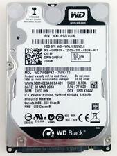 "LOT of 10 ea 750GB 7200rpm Hitachi Seagate Toshiba WD 2.5"" HDD Laptop Hard Drive"