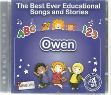 THE BEST EVER EDUCATIONAL SONGS & STORIES PERSONALISED CD - OWEN - ABC 4 ME