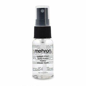 New Mehron Barrier Spray Carded 1 0z. Bottle Makeup Sealant Costumania