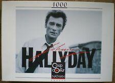 Johnny HALLYDAY Puzzle 1000 pièces Nathan Coup de Coeur