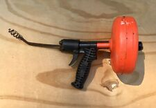 Ridgid Kollmann Heavy Duty Handheld Drain Cleaner Plumbing Tool Snake