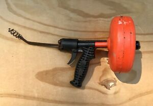 Ridgid  Kollmann Heavy Duty Handheld Drain Cleaner (Plumbing Tool, Snake)