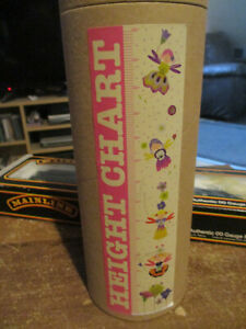 When I grow up height chart new and sealed