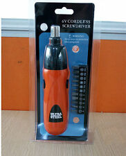 Mini Electric Cordless Screwdriver Battery Operated Drill Tool Power Hand Tools