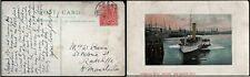 More details for gb 1902 postcard h & k packet m3 rp & s perfin donegall quay belfast