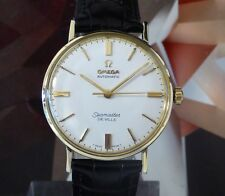 Vintage 1963 Men's Omega Seamaster DeVille Automatic Wristwatch 1 Year Warranty