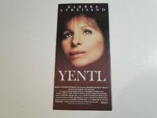 YENTL Barbra Streisand Dépliant Flyer annonce Film - en Français