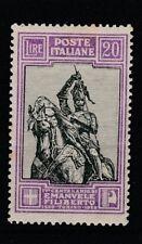FRANCOBOLLI - 1928 REGNO EMANUELE FILIBERTO L.20 MLH Z/7320