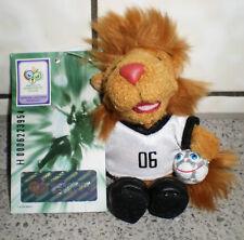 """FUSSBALL WM 2006-""""SOMMERMÄRCHEN""""-MASKOTTCHEN GOLEO-12,5 cm -Schlüsselanhänger-1"""