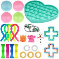 24Packs Sensory Fidget Toys Set Stress Relief Toys Autism Special Need Education