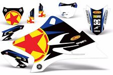 Full Graphics Kit Yamaha TTR50 TTR 50 Kid Dirt Bike Stickers MX Moto Decal RS