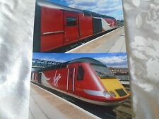 2 6x4 Photos of Virgin East Coast Class 43-43313 at Doncaster Railway Station