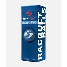 New listing New GEARBOX RACQUETBALLS - 3 BALL PACK - ELECTRIC BLUE AUTHORIZED DEALER