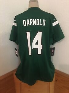 Nike New York Jets Sam Darnold Womens Jersey XXL Green Jersey MSRP $100 NFL New