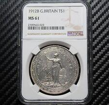 1912 B Great Britain Trade Dollar NGC MS61 (63023)