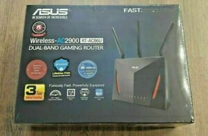 ASUS AC2900 2900Mbps Dual Band 4 Ports 1000Mbps Gaming Router (RT-AC86U)