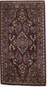 Vintage Style Floral Classic Karastan 2X4 Small Entrance Oriental Rug Carpet