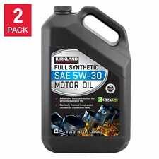 NEW Kirkland Signature 5W-30 Full Synthetic Motor Oil 5-quart, 2-pack