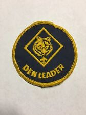 Vintage BSA Cub Scouts Patch DEN LEADER Boy Scouts Badge