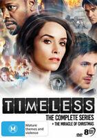 Timeless: The Complete Series [New DVD] Boxed Set, NTSC Region 0, Australia -
