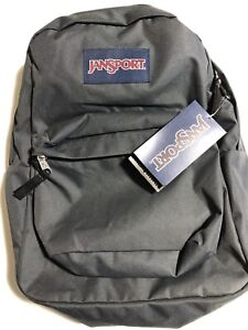 New JanSport SuperBreak Backpack -- Forge Grey
