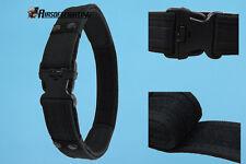 "2"" Army Tactical Combat Gear Utility Nylon Heavy Duty Belt Hunting Adjustable BK"