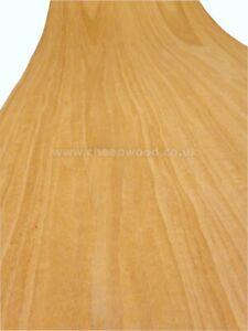 American Cherry Wood Veneer / Flexible Wood Veneer Sheet