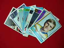8 CARD LOT OF BETTER HOCKEY PLAYERS OF THE '70S BOBBY HULL, BOBBY CLARKE