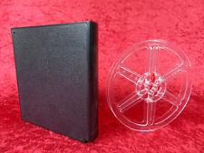 1 Stück 90 Meter Filmspule, transparent in schwarzer Schneider-Dose