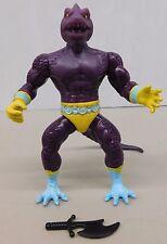 Remco Warrior Beasts SNAKEMAN W/ STRAIGHT/SMOOTH TAIL - KO He-Man -Sized Figure