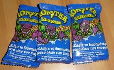 LOT MONSTER IN MY POCKET NEON MIMP SERIES 1 BRAND NEW & SEALED BOOSTER PACK X3