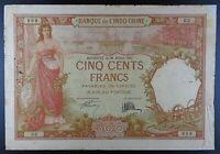 1927 French Somaliland - Djibouti 500 Francs Banknote, P-9a.
