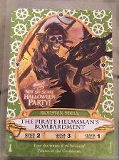 Disney Sorcerers of the Magic Kingdom Holiday card 05/P: Pirate Helmsman