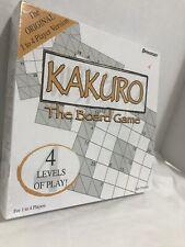 Kakuro Board Game Pressman New Sealed 2006