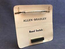 RARE Allen-Bradley Reed Switch Salesmans Sample Card Working Model AB Vintage