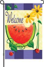 Watermellon Welcome Garden Flag Pr 51736