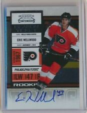2010-11 Panini Contenders Season Ticket Rookie 155 Eric Wellwood Flyers
