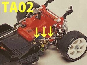 Tamiya TA02 Tech Racing Rear Super Rare Anti Sway Bars