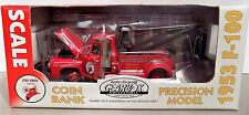 1953 FORD F-100 tow truck fire chief TEXACO - limited éd. GEARBOX 1:24