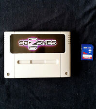 SD 2 SNES Everdrive SUPER NINTENDO + 8gb SD CARD-SNES FAMICOM SUPER NES