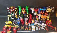 Power Rangers Dino Thunder Wild Force Space Samurai Megazord Builder Lot Key