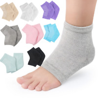 1Pair Gel Silicone Moisturizing Heel Socks Cracked Foot Skin Care Protectors Kit