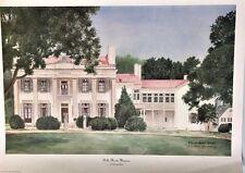 Neeley, Elaine-Belle Meade Mansion-Famous Places-Nashville, Tn-Art For Sale