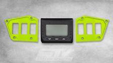 Lime Polaris RZR Dash Switch Plate Fix XP Turbo 2017 with GPS Display