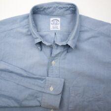 BROOKS BROTHERS Supima Oxford Cotton Button Down OCBD Mens Shirt USA - 16.5 36