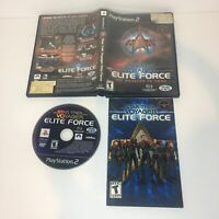 Star Trek: Voyager Elite Force PS2 Complete & Tested CIB (Sony PlayStation 2)